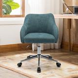 Latitude Run® Cyna Home Office Task Chair Upholstered in Green, Size 28.7 H x 22.6 W x 23.6 D in | Wayfair C00C014B721740F7B76A9110A5E26D62