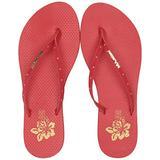 MIA Shoes Women's Rio Flip-Flop, Red, 8 Medium US