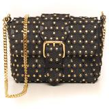 Small Bag In Leather Black Leather - Black - RED Valentino Shoulder Bags