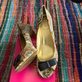 J. Crew Shoes   Jcrew Peeptoe Pumps   Color: Tan   Size: 12