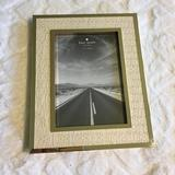 Kate Spade Accents | Kate Spade 5x7 Picture Perfect Gold Frame Nwt | Color: Cream/Gold | Size: Os