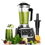 Professional Blender for Kitchen, Countertop Smoothie Blender Machine with Variable Speed 2200 Watt for Frozen Fruit, Crushing Ice, Veggies, Shakes and Smoothie 2L Tritan Container and 30000 RPM for Home and Commercial