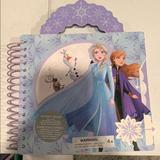 Disney Toys | New Frozen Ii Activity Book Disney Store | Color: Blue | Size: Osg