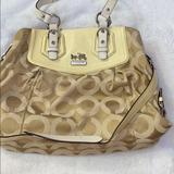Coach Bags   Authentic Coach Madison Satchel Crossbody (2011)   Color: Cream/White   Size: Os