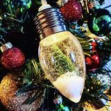Mxiqqpltky Christmas Tree String Lights, Snow Globe Light, Indoor Outdoor Christmas String Lights Fairy String Lights for Home Christmas Tree Wedding Party Bedroom Decoration (5pcs(5x31.5inch))