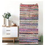 Multi Color Hand Made Area Rugs for Living Room 3D Stereo Soft Cotton Wool Indian Carpets Beside Bed Luxury Floor Cover Mats Kitchen Dining Room Home Decore Rugs C 4x6ft