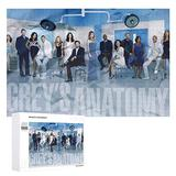 qwerte Inspired by Grey's-Anatomy Leisure Puzzle Fun Game Puzzle Gift Kid Adult Art Puzzle 1000 Pieces