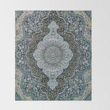 "Throw Blanket   Persian Rug by Ryanrad - 51"" x 60"" Blanket - Society6"