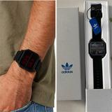 Adidas Accessories | Adidas Archive_R2 Mens Digital Watch | Color: Black/Red | Size: Os