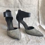 Nine West Shoes | Nine West Snake Print Stiletto | Color: Black/White | Size: 8.5