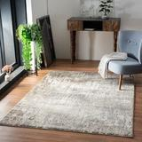 17 Stories Cunningham Animal Print Tan Area Rug Polyester/Polypropylene in White, Size 72.0 H x 48.0 W x 0.33 D in   Wayfair
