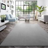 Latitude Run® Demarques Gray Area Rug Polyester in White, Size 67.0 H x 47.0 W x 0.79 D in   Wayfair 2F39D7A93C2E4D558D0AC0419FC179E8