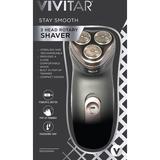 Vivitar Stay Smooth 3-Head Rotary Shaver