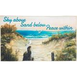 Nourison Sky Above Sand Below Peace Within Accent Rug