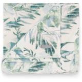 Tommy Bahama Wallpaper Leaves Throw Blanket