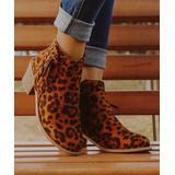 ROSY Women's Casual boots Leopard - Leopard Ankle Boot - Women