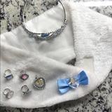 Disney Accessories | Disney Cinderella Accessories | Color: Silver/White | Size: Osg