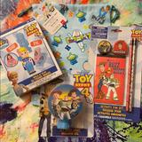 Disney Toys | 10 Piece Disney Pixar Toy Story 4 Gift Set Nwt | Color: Blue/Red | Size: 10 Pieces