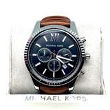 Michael Kors Accessories   Michael Kors Men'S Lexington Brown Leather Watch   Color: Brown   Size: Os