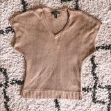 Ralph Lauren Sweaters | Ralph Lauren Sweater Vest | Color: Cream/Tan | Size: S
