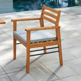 Gloucester Contemporary Patio Wood Dining Chair - Vifah V1920