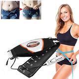 HMHM Electric Slimming Massage Belt Fat Burning with Heating Vibrating Body Shape Exercise Fitness Belt