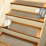 Lark Manor™ Pihu Stair Tread Polyester/Rubber in Brown, Size 0.25 H x 30.0 W in   Wayfair 1D973E97ECF14BD6B4C970F1733E1C81