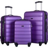 PENGFANG WORLDWIDE LLC Hardside Spinner Suitcase in Indigo, Size 30.0 H x 20.0 W x 12.0 D in | Wayfair FPP191030AAI