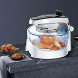 Aquatech 12 Liter Air Fryer Plastic in White, Size 13.9 H x 14.0 W x 16.7 D in | Wayfair 08DS