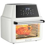Costway Air Fryer Oven Stainless Steel in White, Size 16.0 H x 14.5 W x 14.5 D in | Wayfair EP24735WH
