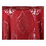 Darnel Fabrics Imperial Fabric in Red, Size 110.0 W in | Wayfair DARNEL06102
