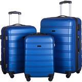 PENGFANG WORLDWIDE LLC Hardside Spinner Suitcase in Blue, Size 30.0 H x 20.0 W x 12.0 D in   Wayfair FPP191030AAC