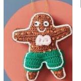 Anthropologie Holiday   Anthropologie Gingerbread Man Ornament Nwt   Color: Brown/Green   Size: Os