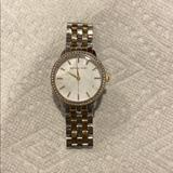 Michael Kors Accessories   Michael Kors Two Toned Pearl Face Watch   Color: Gold/Silver   Size: Os