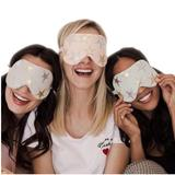 Free People Accessories   Free People Starry Eyed Vegan Leather Eye Mask   Color: Gray/White   Size: Os