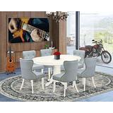 East West Furniture AVSI7-LWH-15, Regular