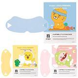 Avajar Kakao Perfect V Lifting Little Ryan Mask 3pcs - Korean V Line Face Lifting Mask | Double Chin Reducer | Face Slimmer | Face Chin Lift | Neck Chin Jawline V Shaped Slimming Mask