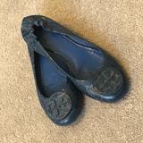 Tory Burch Shoes | Tory Burch Reva Flats | Color: Blue/Green | Size: 9