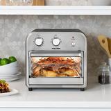 Kalorik 11.3 Liter Air Fryer Oven Stainless Steel in Gray, Size 12.75 H x 13.0 W x 13.75 D in   Wayfair AFO 46894 BKSS