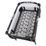 Baby Trend Bedside Crib w/ Mattress Plastic in Black, Size 32.0 H x 28.4 W x 28.0 D in | Wayfair PY86B69B