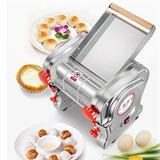 MIFXIN Electric Pasta Maker Stainless Steel in Gray/White, Size 16.0 H x 15.0 W x 15.0 D in | Wayfair MFX-00052