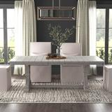Greyleigh™ Zaiden Extendable Dining Table Wood in Brown/Gray, Size 30.0 H in   Wayfair 9B013B83C4494101AE95107A1067058A