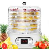 Ancheer 6 Tray Electric Food Dehydrator in White, Size 11.65 H x 11.45 W x 10.9 D in | Wayfair US01+AMB005457_US#ROO