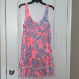 Lilly Pulitzer Dresses   Lilly Pulitzer Babydoll Dress   Color: Blue/Pink   Size: S
