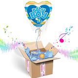 Baby Boy Balloon Box (Baby Boy Pacifier)