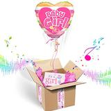 Baby Girl Balloon Box (Baby Girl Pacifier)