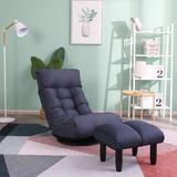 Trule Lazy Balcony Rocker Game Chair Foam Padding in Blue, Size 35.8 H x 22.83 W x 32.2 D in | Wayfair 6A9CE3C664374039BF2CA60195297EF8