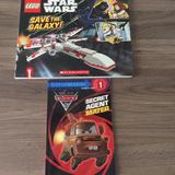 Disney Other | 2 New Books, Lego Star Wars And Cars Secret Agent | Color: Black | Size: Os