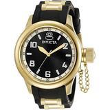 Invicta Russian Diver Quartz Black Dial Ladies Watch 31250