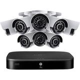 Lorex D861A81T-88CA 8-Channel 4K UHD DVR with 1TB HDD & 8 4K AHD Bullet Cameras D861A81T-88CA